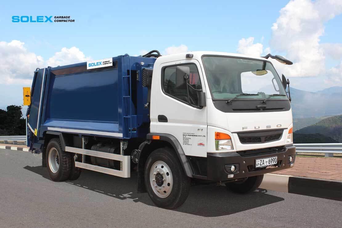 Garbage compactor solex Garbage compactor