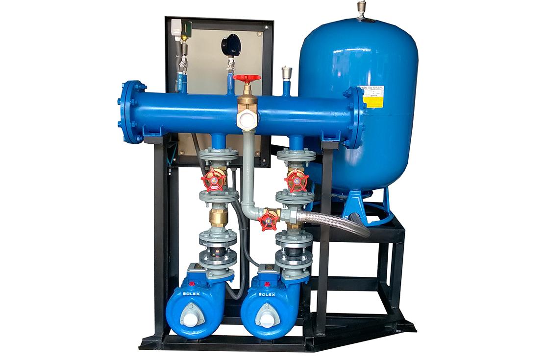 Pressure Booster Systems : Pressure booster system solex
